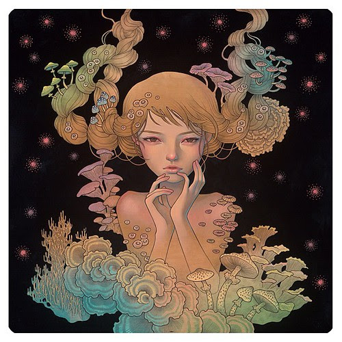 just updated my blog with all new pieces from my mini solo at Scope Basel. check it out! audreykawasaki.blogspot.com #audreykawasaki #thinkspace #scopebasel by audkawa