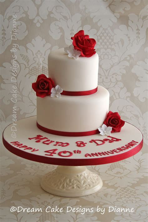 WEDDING ANNIVERSARY   Dream Cake Designs by Dianne
