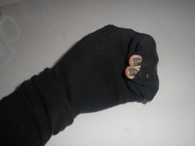 Wie Du Aus Einer Socke Kurzerhand Ein Duttkissen Zaubern Kannst