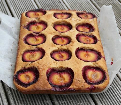 Plum & Cardamom Cake 1