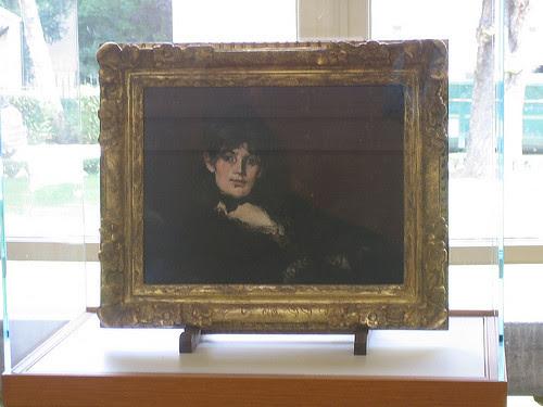 IMG_8907 _ Portrait de Berthe Morisot, Edouard Manet, Musée Marmottan Monet, Paris, June 2008