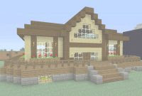 Elite Minecraft How To Build A Small Survival House Tutorial Easy With Cool Easy Minecraft Houses Collection Ideas House Generation