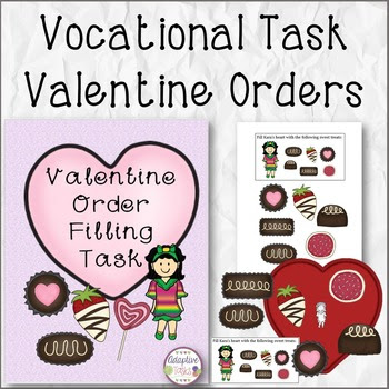 Valentine Sweets Customer Order Task