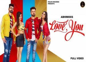 Love You Lyrics - Abhinikks
