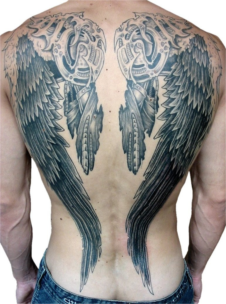 24 Angel Wings Tattoos And Their Deep Spiritual Connection Tattoos Win