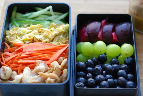 6/23/10 Cold Peanut Noodles Lunch