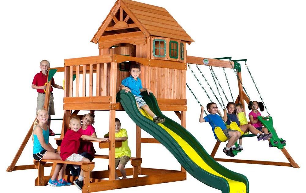 Backyard Discovery Springboro Swing Set - House of Things ...
