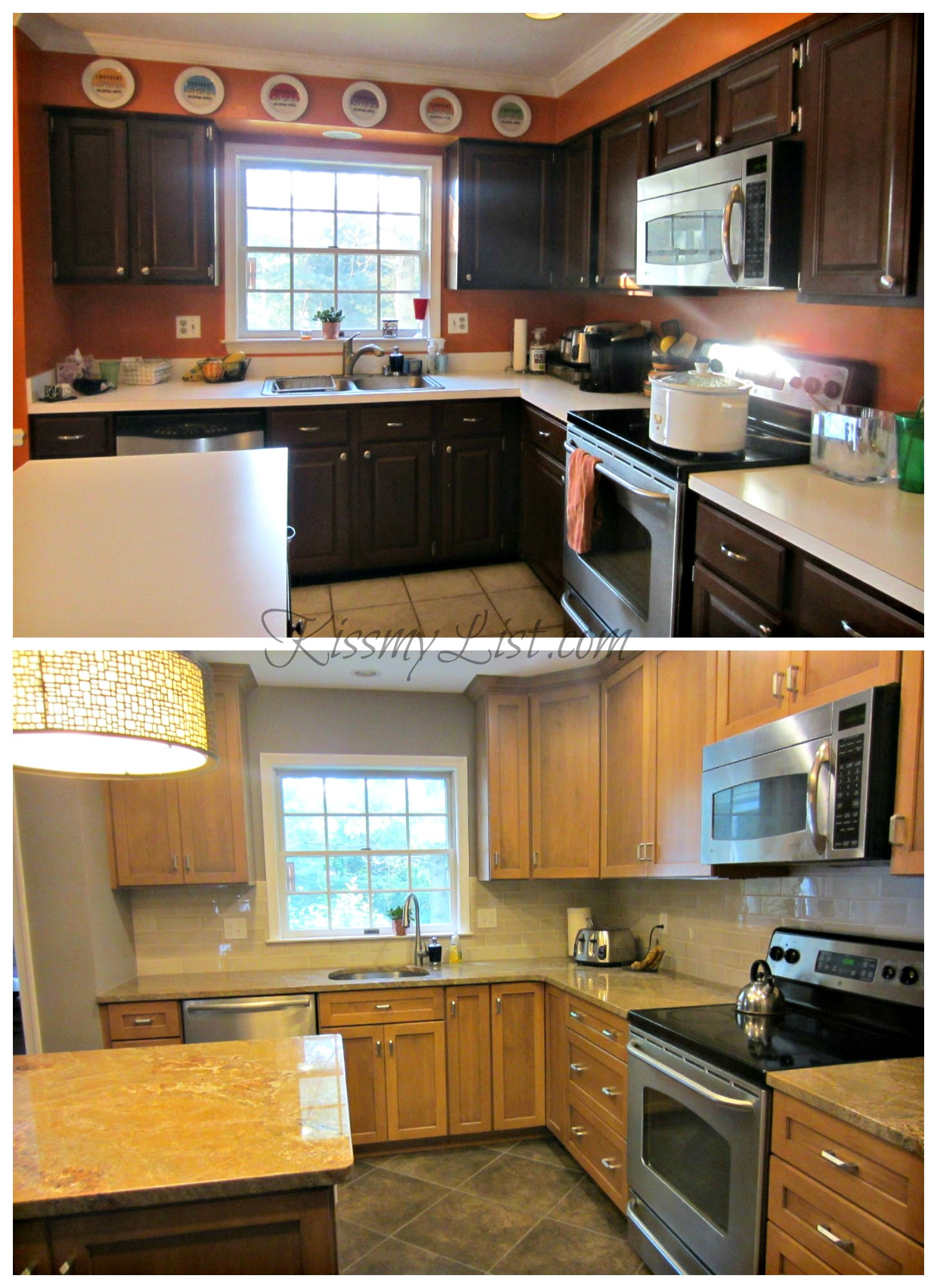 Kitchen Remodel In Small Space