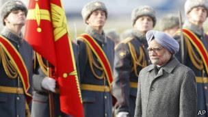 印度总理抵达莫斯科