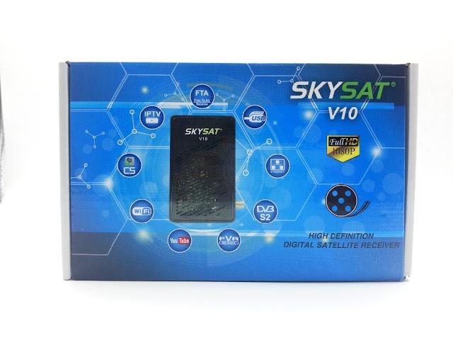 SKYSAT V10 HD NOVA ATUALIZAÇÃO  V2.520 - 20/12/2018