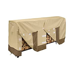 Amazon.com: Veranda Log Rack Cover, 8-Feet: Patio, Lawn & Garden