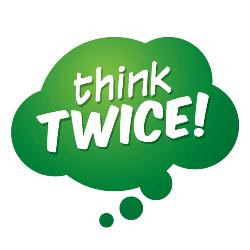 Image result for images for thinking twice
