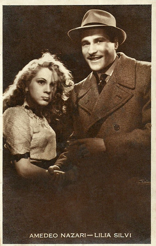 Lilia Silvi and Amedeo Nazzari in La bisbetica domata
