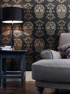 Skull Wallpaper on Pinterest