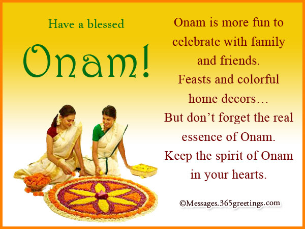 Onam Wishes In English 365greetings Com