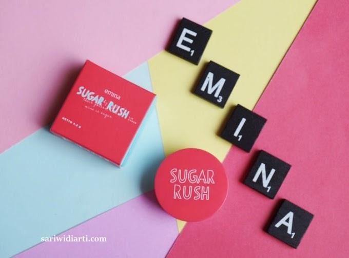 Review Emina Sugar Rush, Lip Scrub Murah dengan Manfaat Biji Aprikot