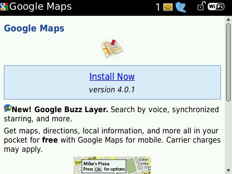 Google Maps Updated To V Now Includes Buzz Layer