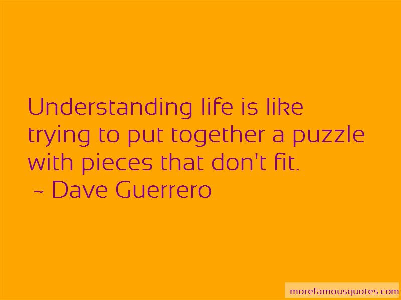We Fit Together Like A Puzzle Quotes Top 20 Quotes About We Fit