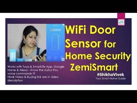 Smart WiFi Door Sensors | ZemiSmart