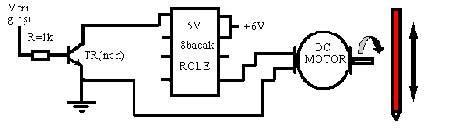 DC động cơ học-và-kết nối-Schema