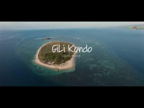 Gili Kondo Lombok (aerial drone)