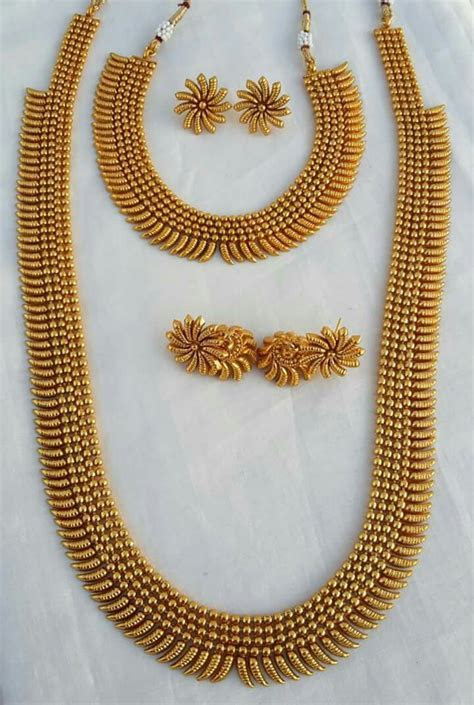 57 South Indian Gold Necklace Designs, South Indian Gold