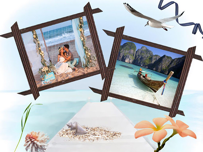 Travel Photo Album Design Stylish Printable Templates