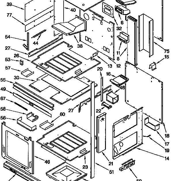 33 Kitchenaid Oven Parts Diagram