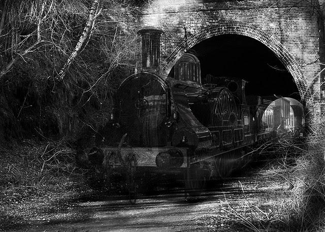 Apariciones fantasmales tren El tren fantasma de Lincoln