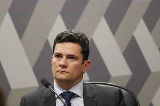 Sérgio Moro é responsável pelas decisões referentes à Operação Lava Jato