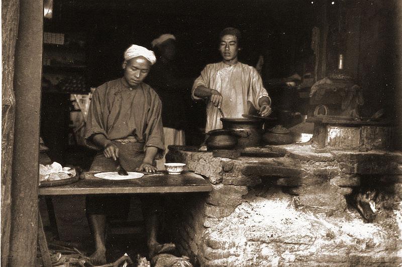 File:Baker's shop, Mandalay Chinatown.jpg