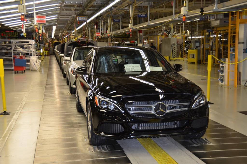 Mercedes-Benz Starts C-Class Production At Alabama Plant