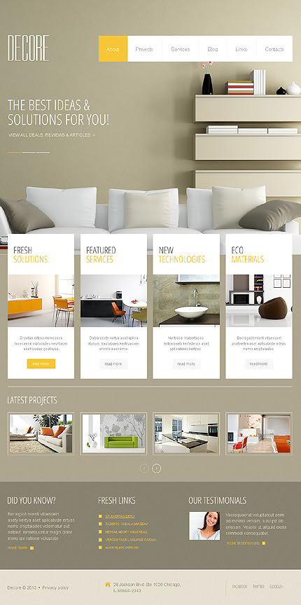 13 Best Interior Design WordPress Themes 2019 - Colorlib