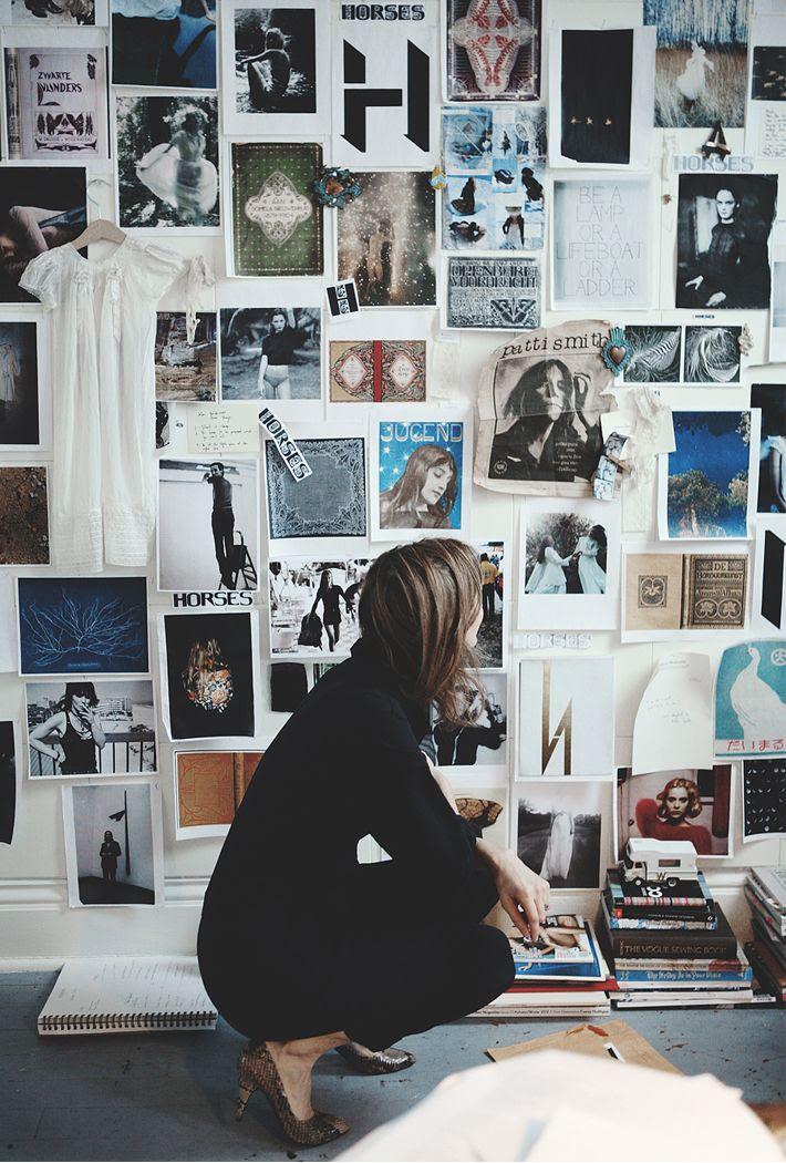 #moodboard #wall