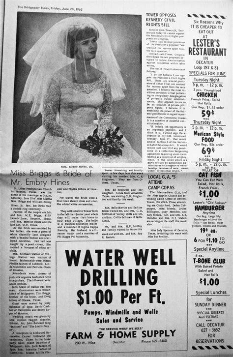 50th Wedding Anniversary party, original newspaper