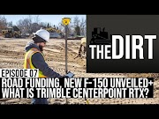 Video: The Dirt #07: Infrastructure Funding Bills, the 2021 Ford F-150 + What is Trimble Centerpoint RTX? oleh - rentalbeko.best