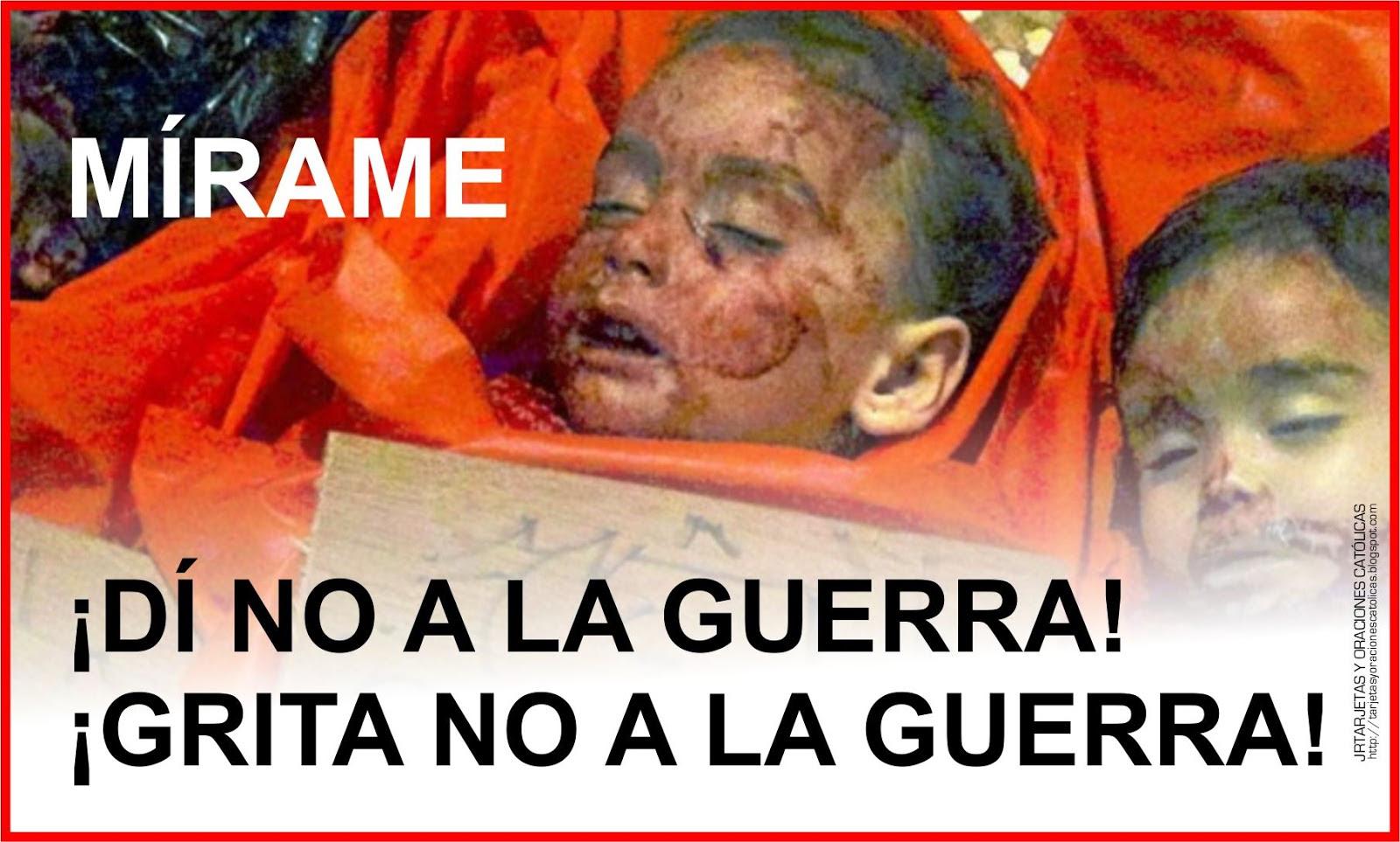 NO A LA GUERRA 1