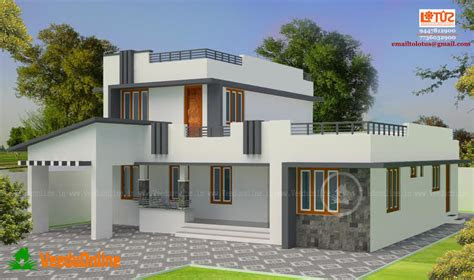 simple contemporary home design  square feet