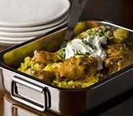 Chef Ainsley Harriott's SOS Chicken Curry