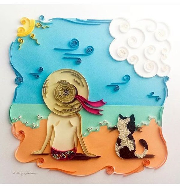 Extremely Creative Examples of Kirigami Art A Hobby to Addapt (29)
