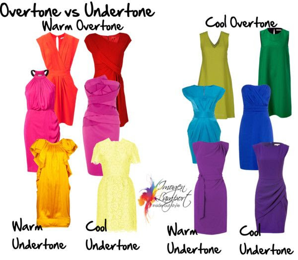Understanding the difference between colour undertone and overtone http://www.insideoutstyleblog.com/2013/12/understanding-colour-properties.html