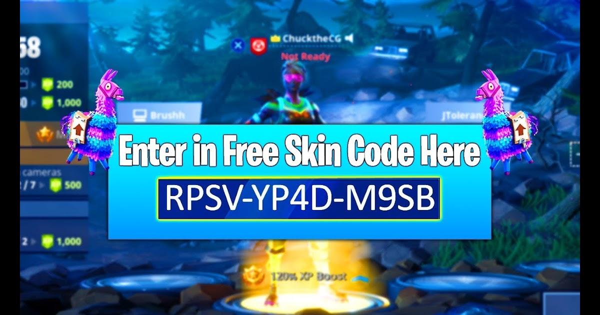 Free For All Code Fortnite