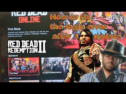 Red Dead Online ( 2019 ) How to fix error code 0x20010006