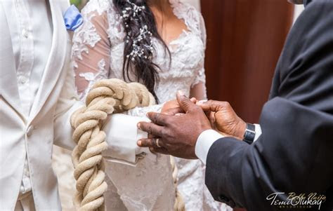 BN Exclusive: Xerona and Dj Caise Three Cord Stand Wedding