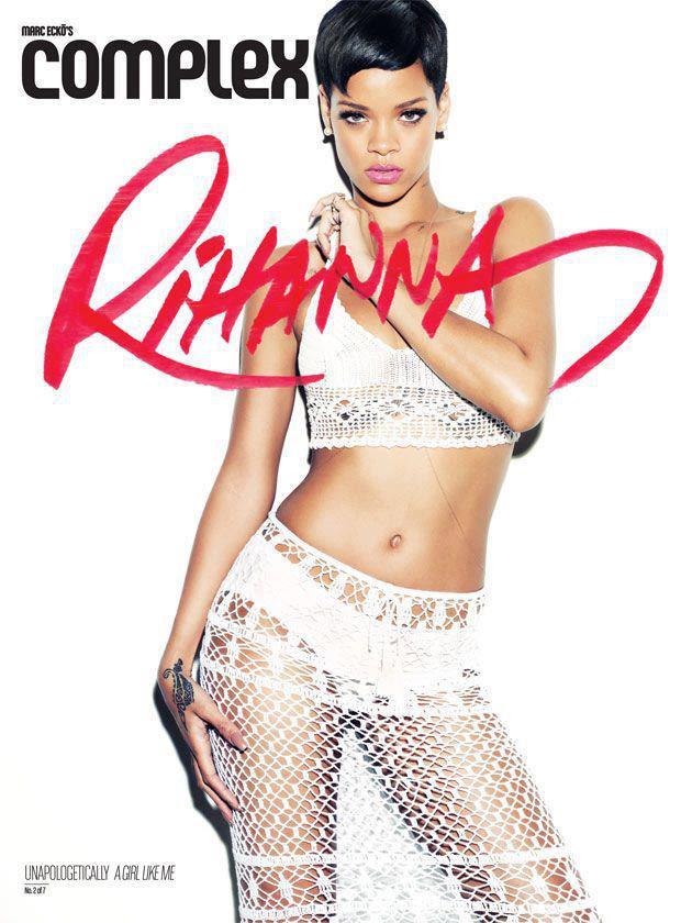 Rihanna complex magazine 2013 a girl like me