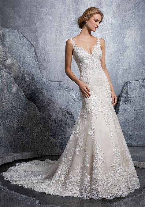Krystal Wedding Dress   Style 8218   Morilee