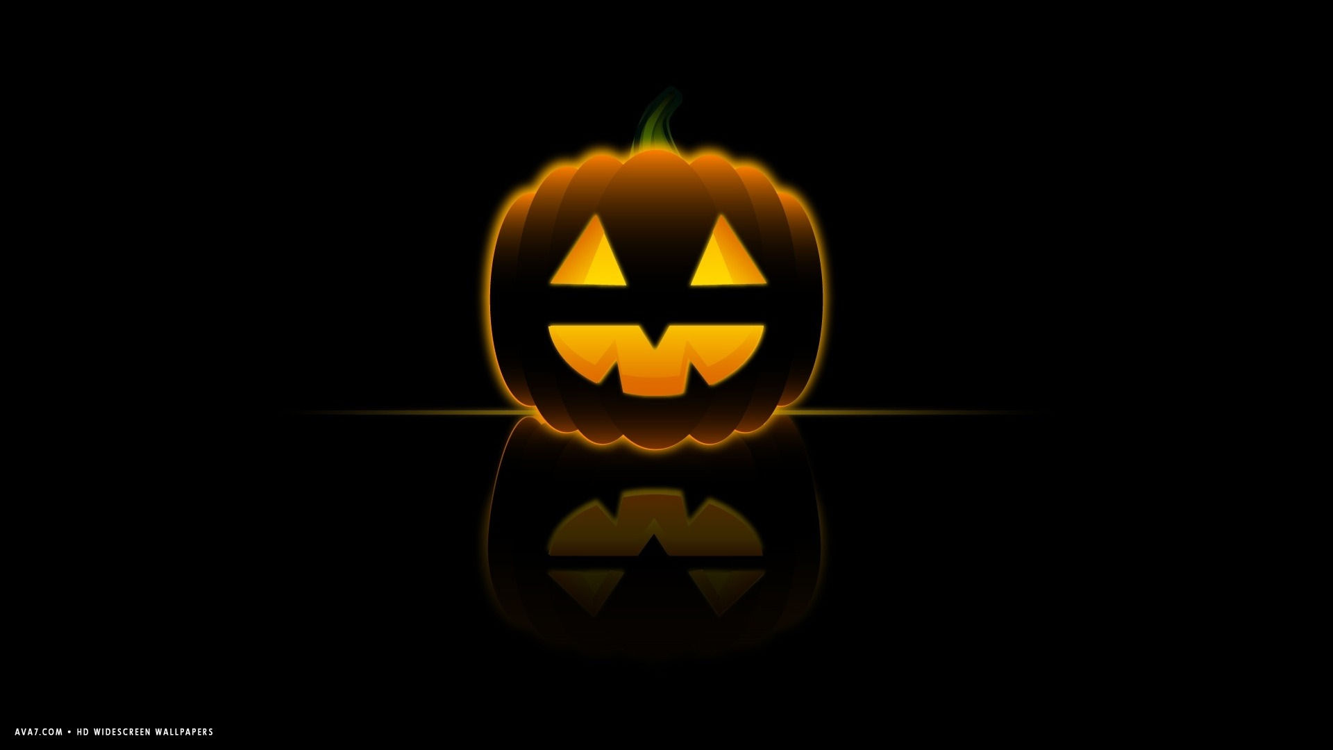 Halloween Happy Glowing Jack O Lantern Illustration Design Simple