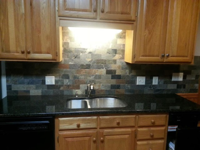 Uba Tuba Granite Countertops - Traditional - Kitchen ...