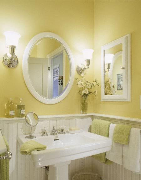 What color do I paint the walls of a small bathroom that ...
