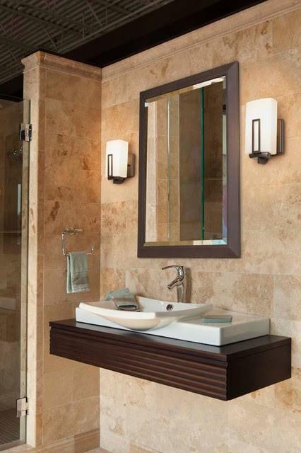 Bathrooms - modern - bathroom lighting and vanity lighting ...